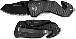 Boker Magnum Black Rescue Knife