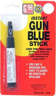 G96 Gun Blue Touch Up Stick