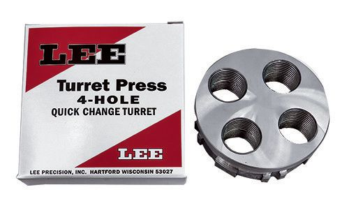 Lee Turret Press 4-Hole Quick Change Turret