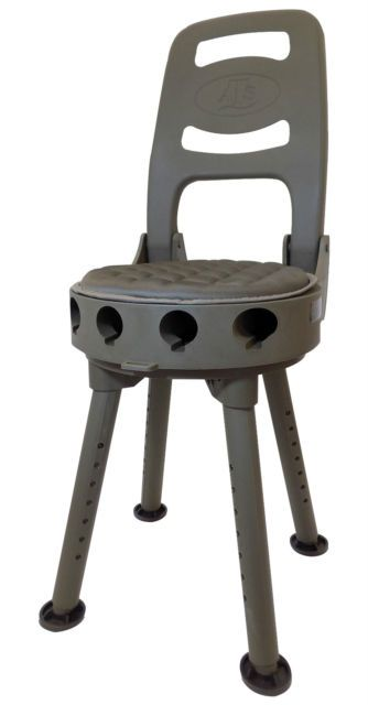 Quake Stag Folding Shooting Stool