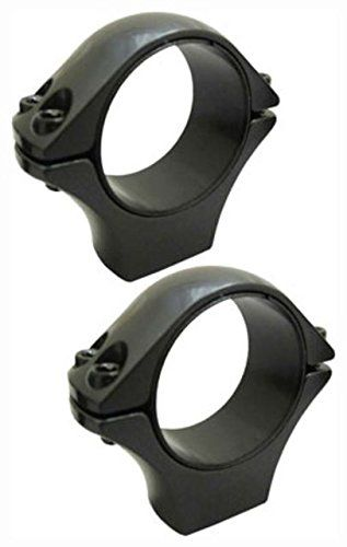 "Sako Optilock Scope Mount Rings - 1"" High Matt Black S130R925"